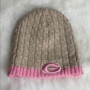Accessories - Georgia Bulldogs cable Knit Hat